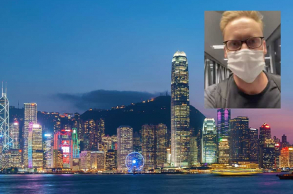 Periodista viaja a Hong Kong.