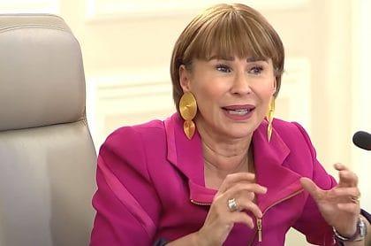 Alicia Arango, ministra de Interior