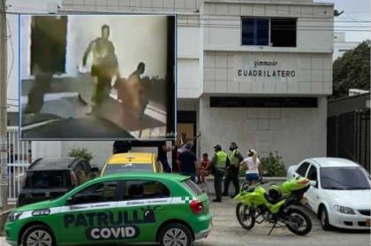 Caso de gatos muertos en gimnasio en Barranquilla