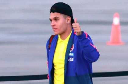 Juan Fernando Quintero volvió a Colombia