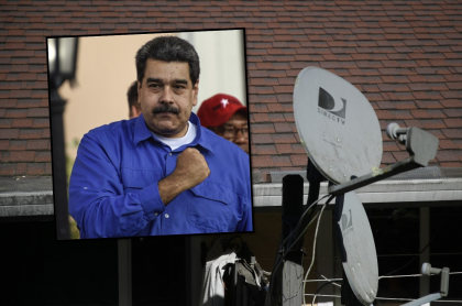 Maduro y Direct TV