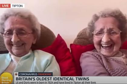 Gemelas de 95 años.
