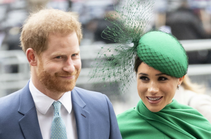 Príncipe Harry y su esposa Meghan Markle