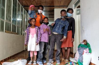 Familia de Linson, despojado de su casa en Ciudad Bolívar