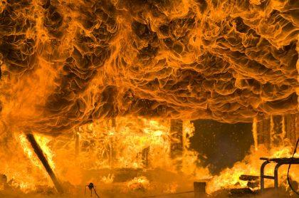 Incendio (imagen de referencia).