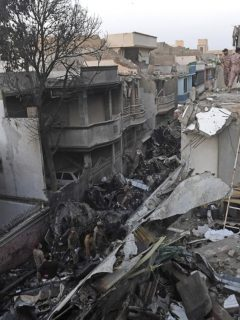 Accidente aéreo Pakistán