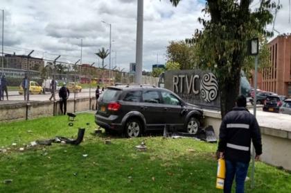 Accidente en RTVC
