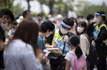 Japón enb medio de la pandemia del coronavirus.