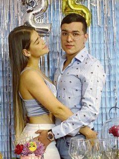 Yeison Jiménez y Sonia Restrepo