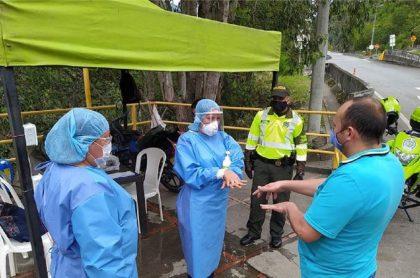 Confirman dos casos de coronavirus en Cáqueza