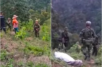 Campesinos enfrentan militares para que no se lleve cadáver
