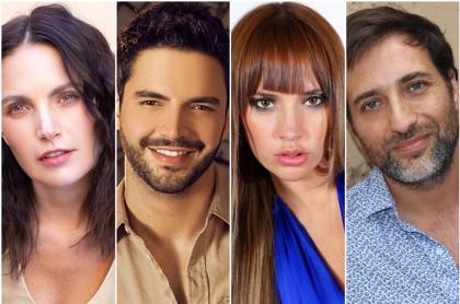 Juliana Galvis / Sebastián Carvajal / Zulma Rey / Andrés Suárez, de 'Confinados'