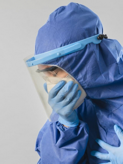 Médica contagiada COVID-19