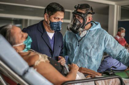 Manaos, capital del estado de Amazonas (Brasil), enfrenta un segundo colapso sanitario debido al coronavirus.
