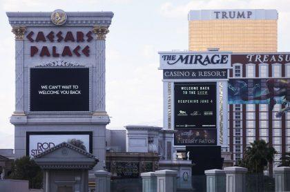 Casinos de Las Vegas anuncian reapertura en medio de la pandemia de COVID-19