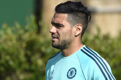 Falcao García en el Chelsea