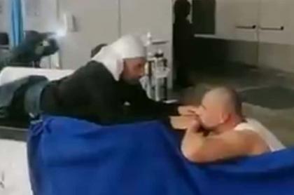 Enfermeros de Corferias que hicieron videos en Tik Tok