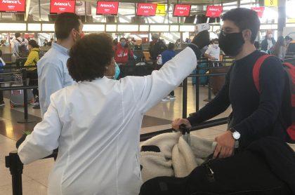 Colombianos repatriados de Estados Unidos
