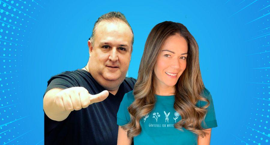Alejandro Gutiérrez y Michelle Manterola