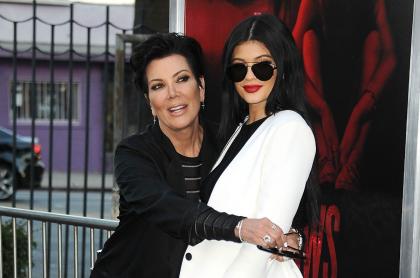 Kris y Kylie Jenner