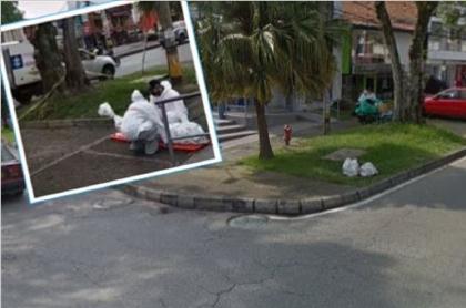 Muere adulto mayor en vía de Medellín