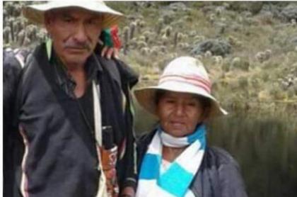 Asesinada pareja de indígenas en Cauca