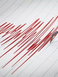 Onda de temblor ilustra nota sobre Registran 12 sismos seguidos en Ecuador, cerca de frontera con Colombia.