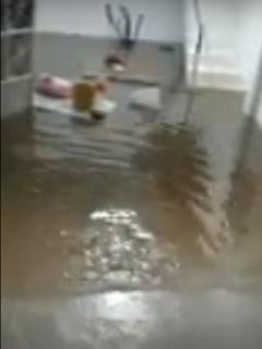 Casas inundadas por emergencia en Fusagasugá (Cundinamarca) por fuertes lluvias en época de COVID-19