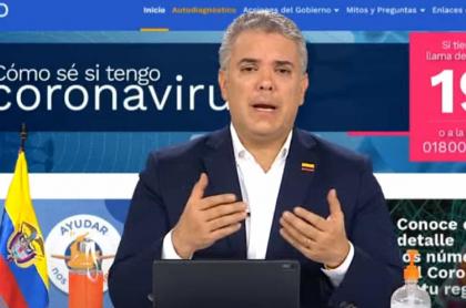 Iván Duque, presudente de Colombia