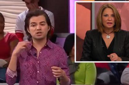 Jay Colindres, actor de 'Caso Cerrado' / Ana María Polo, conductora del programa