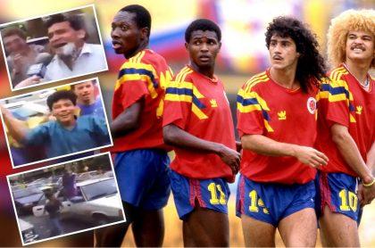 Selección Colombia en Italia 90