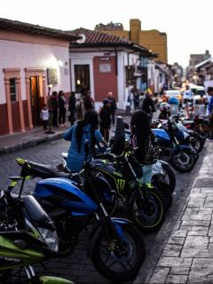 Parqueo en vía pública de Bogotá