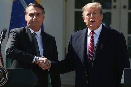 Bolsonaro y Trump defienden la hidroxicloroquina.