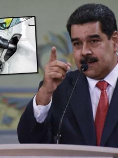 Maduro y gasolina