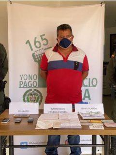 Capturado por estafas a alcaldes en medio de la pandemia