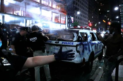 Disturbios en NY
