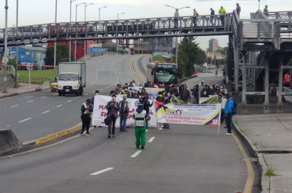 Protestas en TM