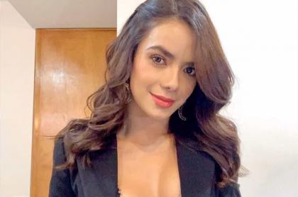 Elianis Garrido, presentadora y actriz.