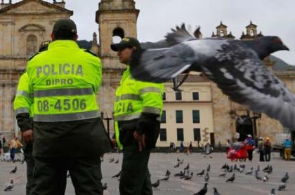 Mensaje de Policía a concejal de Bogotá
