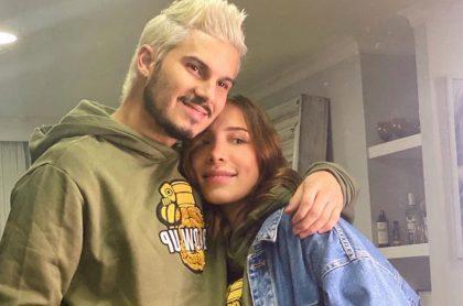Pipe Bueno, cantante, y Luisa Fernanda W, 'influencer'.