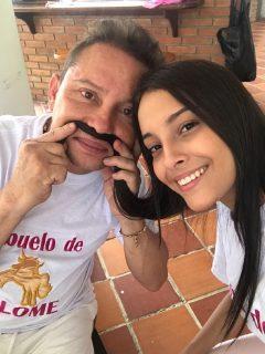 Valentina y Giovanny Ayala