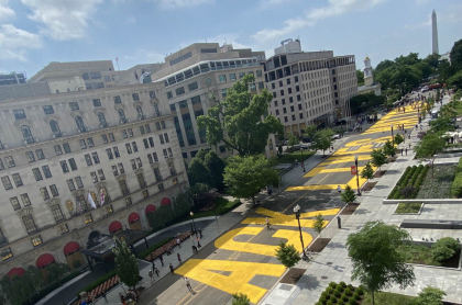 Mural Black Lives Matter en Washington