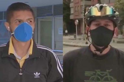 Taxista pide perdón a ciclista