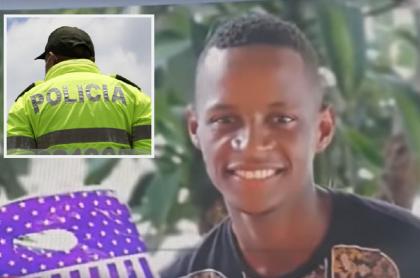 Policía, de espaldas / Janner García, joven afro que habría muerto tras abuso policial