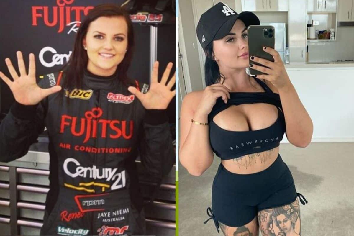 Actriz Porno Gafas Pasta piloto de automovilismo que se retiró para ser actriz porno