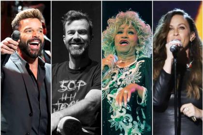 Ricky Martin / Pau Donés / Celia Cruz / Analis Morissette