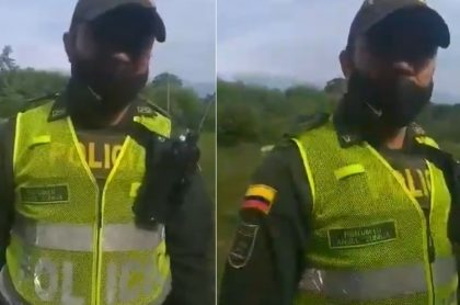 Policía desalojo