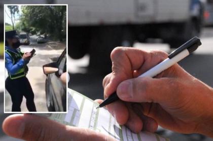 Altercado con guarda de tránsito en Neiva