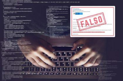 Correo falso para robar datos con prueba de coronavirus