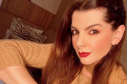 Carolina Cruz, presentadora.